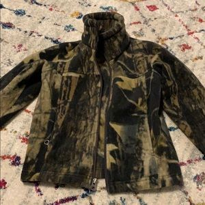 Kids Columbia camo fleece